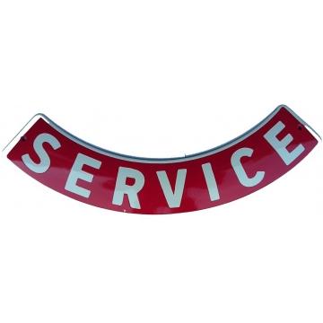 Smaltovaná cedule 430 X 80 SERVICE
